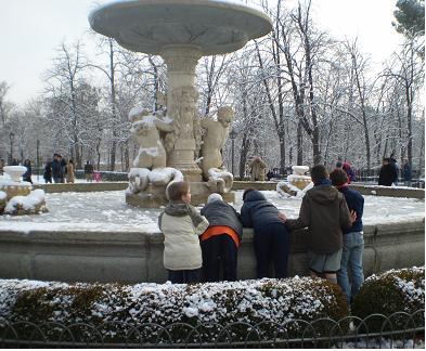 Sobre la nieve en Madrid y el calentamiento global