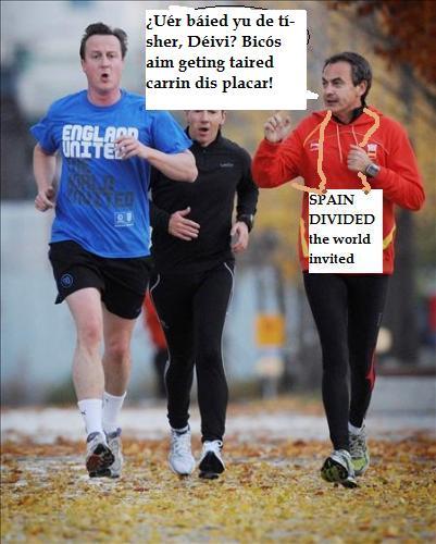 Sobre la forma de correr de los politicos