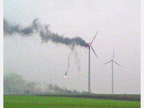 Sobre tormentas y aerogeneradores