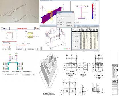 Ingeniería para AES. Representación de figuras tridimensionales en el papel