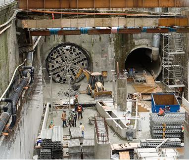 Ingenieria para Abogados y Economistas: Métodos para construir túneles (y 2)
